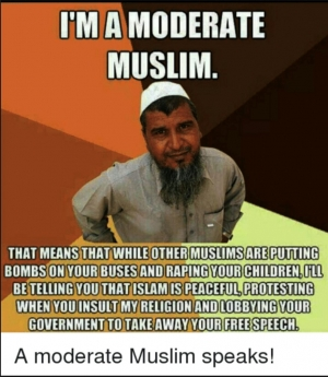 Myth of the Moderate Muslim