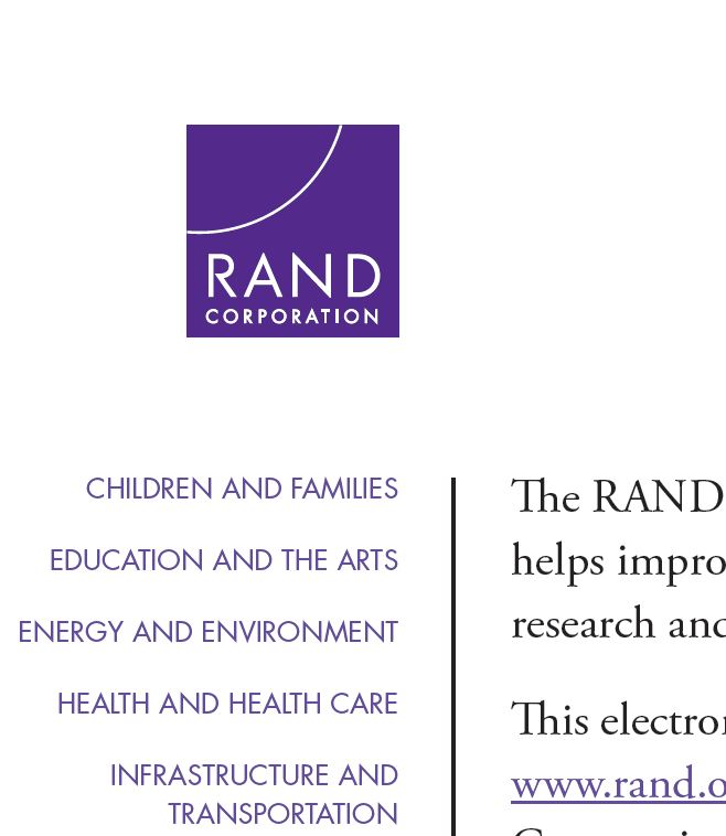 RAND Corporation Image
